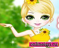 Для девочек: Цветочная фея