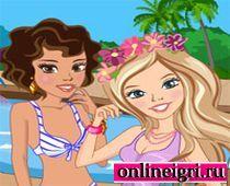 Наряды для девочек у бассейна