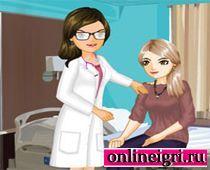 Одевалка в больнице: Доктор спешит