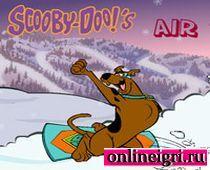 Скуби Ду снова сноубордист