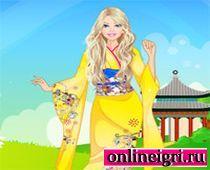 Барби в Кимоно одевалка