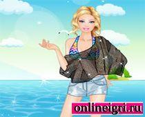 Barbi на пляже