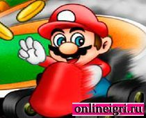 Марио стал гонщиком