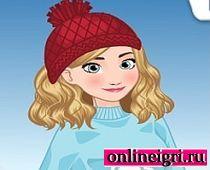 Зимний наряд Анны