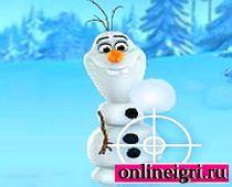 Холодное Сердце: Играем в снежки
