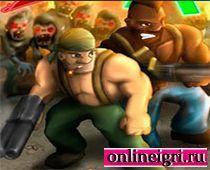 На Двоих спецназ против зомби