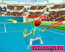 На двоих большой теннис