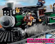 Поезд в городе Лего