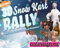 Спанч Боб в гонках по снегу
