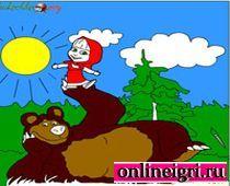 Маша и Медведь: Долгая лесная прогулка