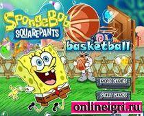 Губка Боб и игра в баскетбол