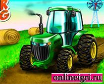 Грязные гонки на тракторе