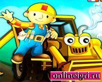 Гонщик на тракторе Боб