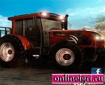 Трактор-курьер на восьми колёсах