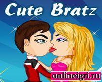 Поцелуи в баре кукл Братц