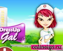 Братц медсестра и дресс ап