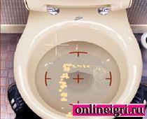 Туалетные приколы с унитазом