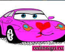 Раскраски Машинки