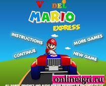 Марио в гонках на тракторе