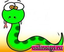 Для малышей 1 года - змейка