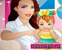Забота о малышах няней