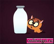 Молочко для котика