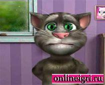 Говорящий том котенок