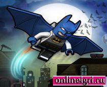 Складывай лего с Бэтменом