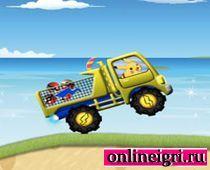 Пикачу и грузовик: Нелёгкая работёнка