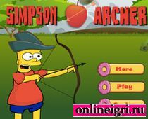 Барт Симпсон - великий лучник?