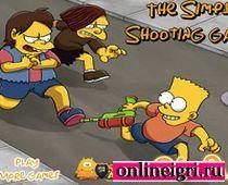Барт Симпсон против Скиннера и плохих парней