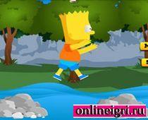 Барт Симпсон: Прыжки по камням