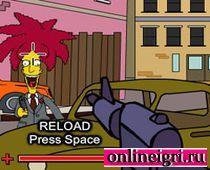 Сипмсоны: Барт играет в шутер