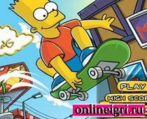 Барт Симпсон: Сумашедший скейтбординг