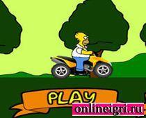 Симпсоны: Гомер гонщик
