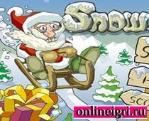 Дед мороз и сбор подарков