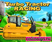 Парное ралли на тракторах