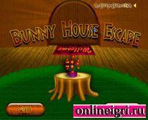 Найди выход из домика кролика