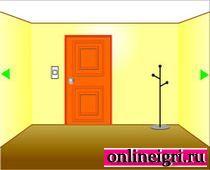 Найти выход из желтой комнаты