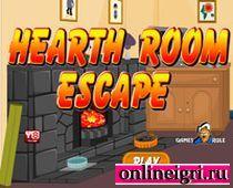 Найди выход: комната с камином