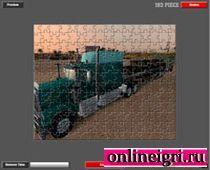 Длинный грузовик