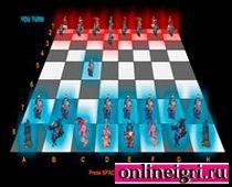 Оригинальные тёмные шашки