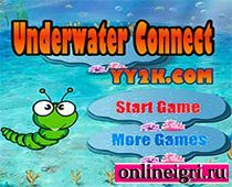 Маджонг под водой в подводном мире